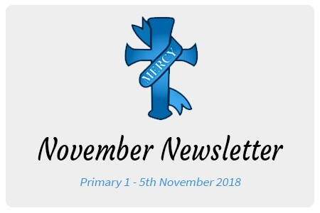 St-Josephs-Convent-Newry-Important-Dates-November-Primary-1-Newsletter-5th